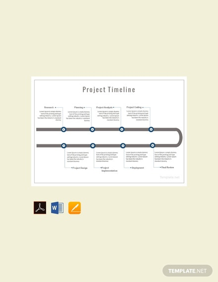 free project timeline template download 113 charts in word pdf