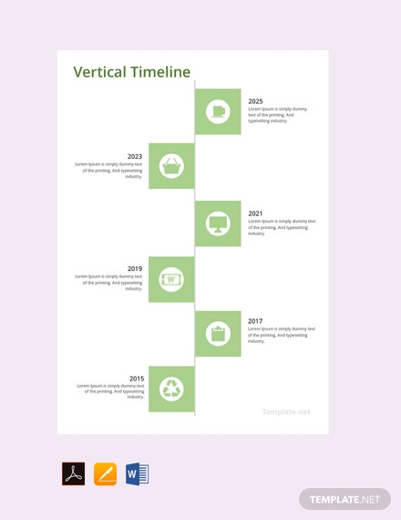 free vertical timeline template download 113 charts in word pdf