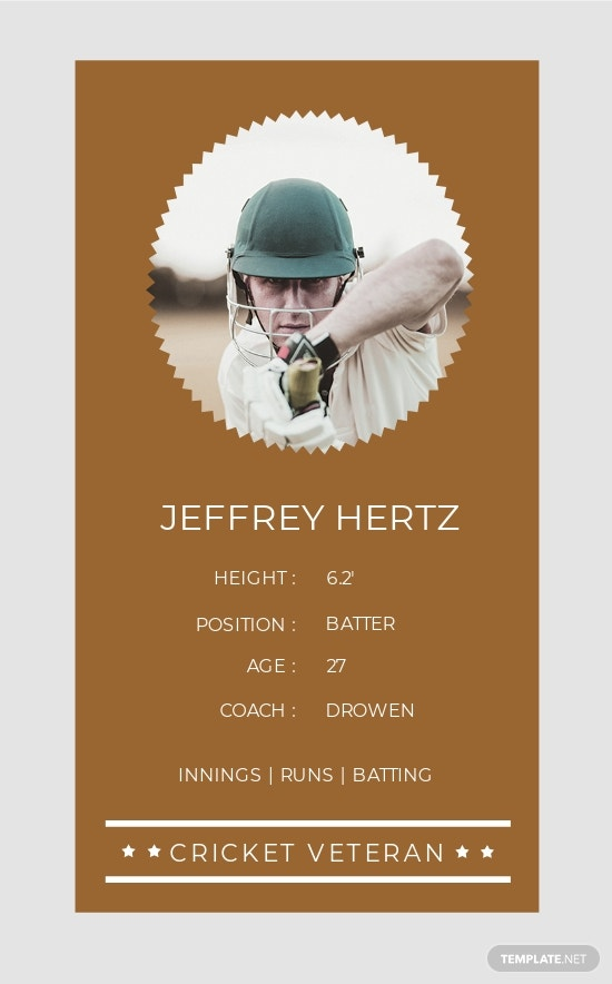 Free Vintage Trading Card Template Template 1.jpe