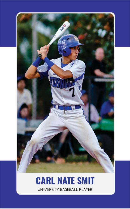 Baseball Trading Card Template