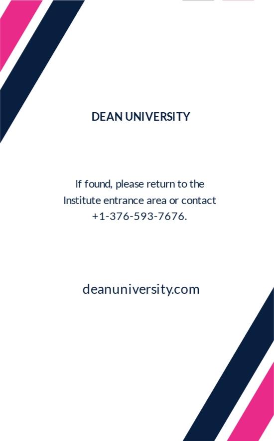 University Student ID Card Template 1.jpe
