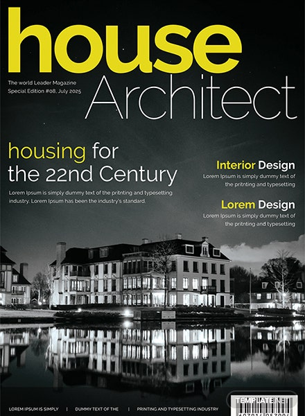 Free architecture magazine template download 36 for Free architecture magazines