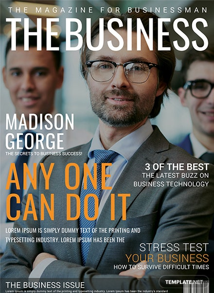 business magazine cover page template download 36 magazines in psd