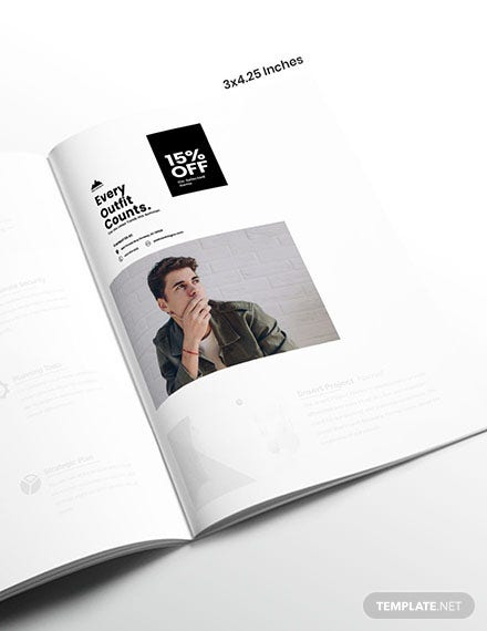 Mens Fashion Magazine Ads Example