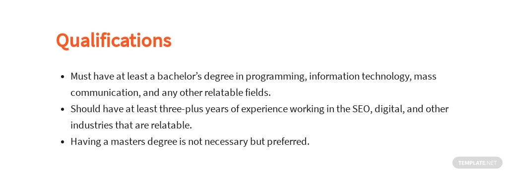 Free SEO Specialist Job Ad/Description Template 5.jpe