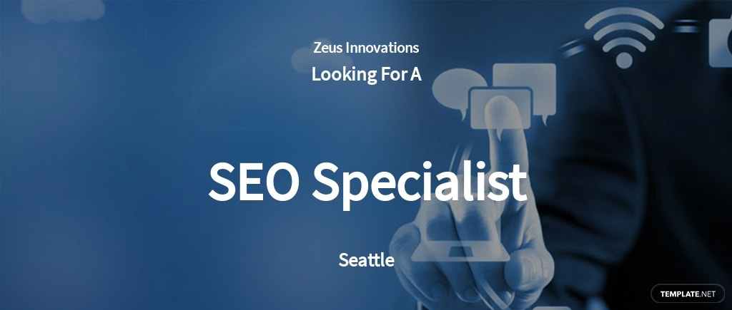 Free SEO Specialist Job Ad/Description Template.jpe