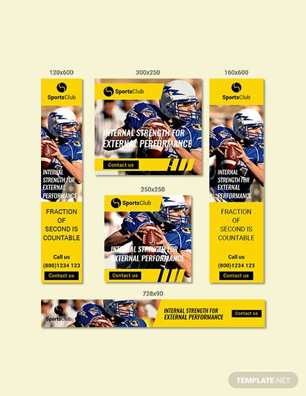 free sports ad banners templates download 41 banners in psd
