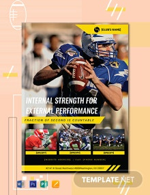 Free Sports eBook Cover Page Template