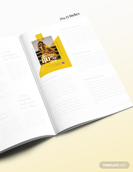 Minimal Magazine Ads Download