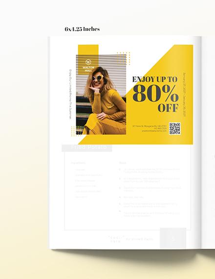Minimal Magazine Ads Template