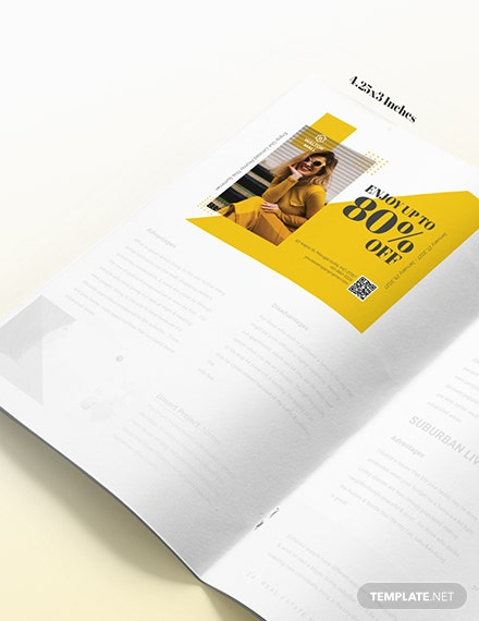 Sample Minimal Magazine Ads
