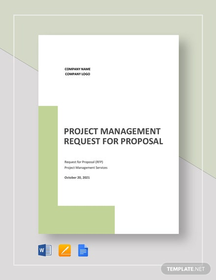 Project Management Request for Proposal Template