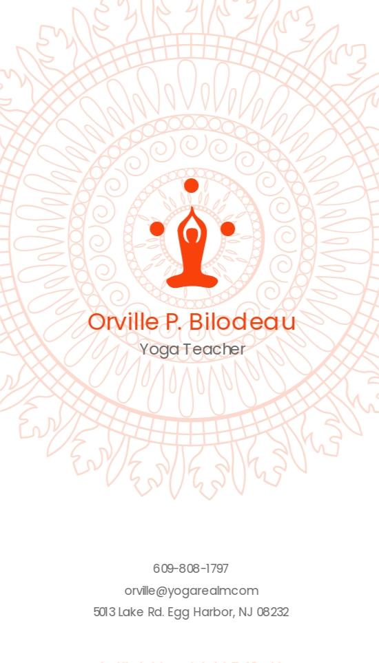 Elegant Yoga Teacher Business Card Template 1.jpe