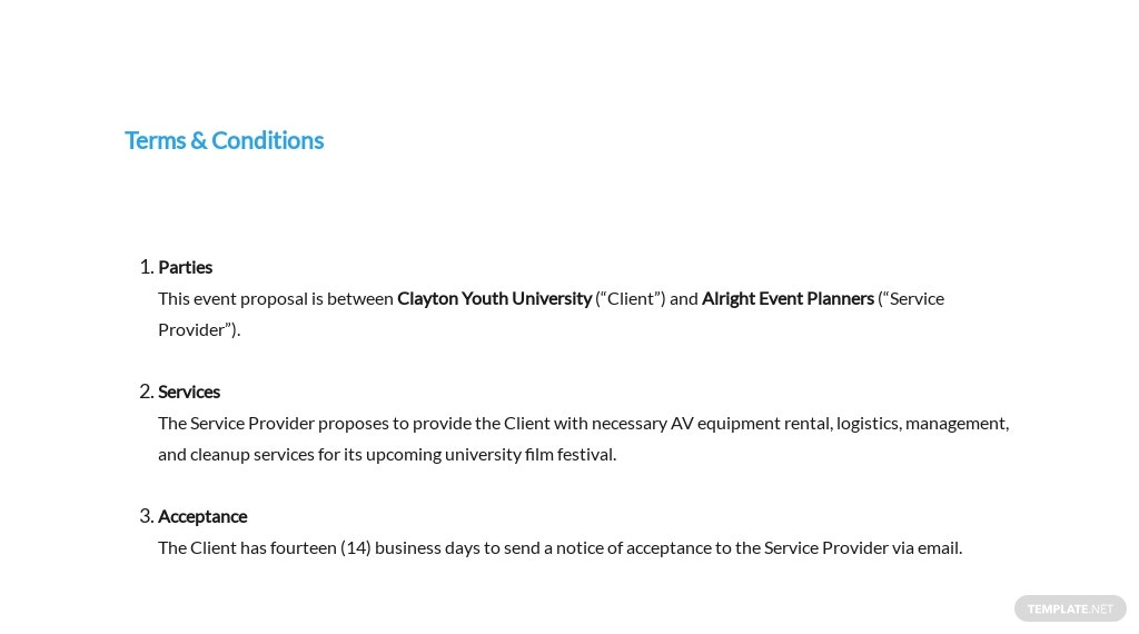 University Event Proposal Template 7.jpe
