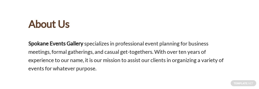Sample Event Proposal Template [Free PDF] - Google Docs, Word, Apple Pages