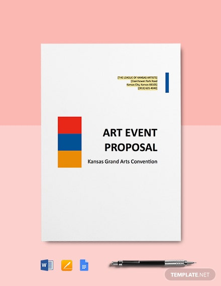 Art Event Proposal Template