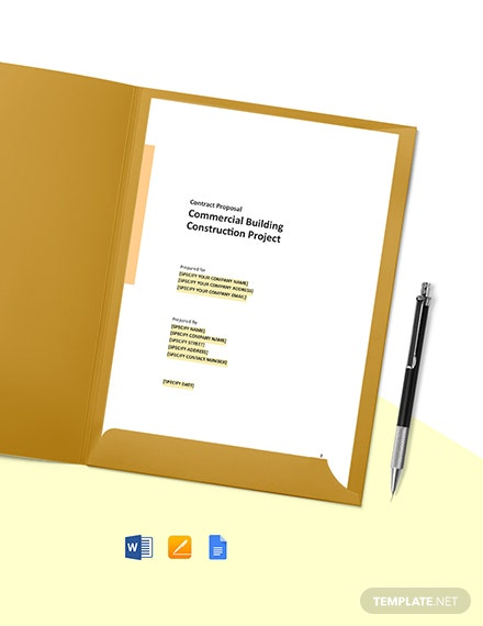 Bid Contract Proposal Template