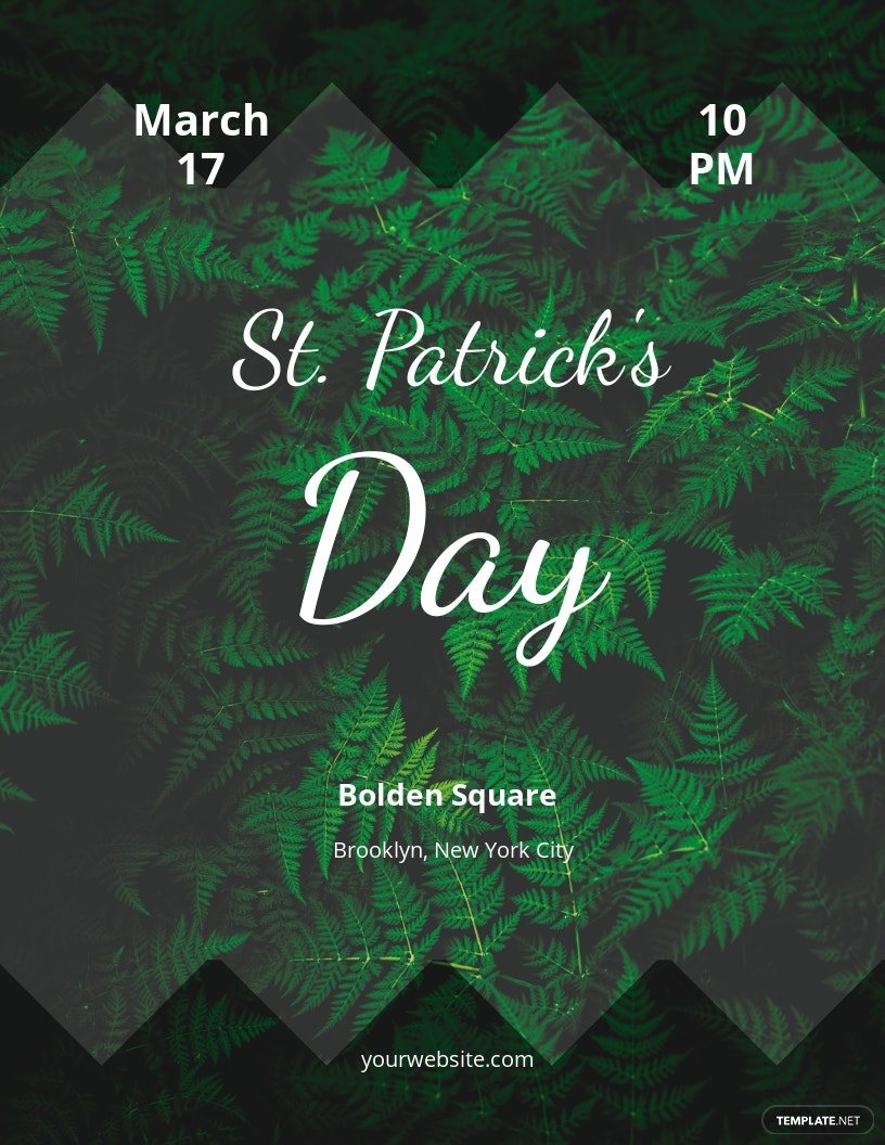 St Patricks Day Flyer Template.jpe