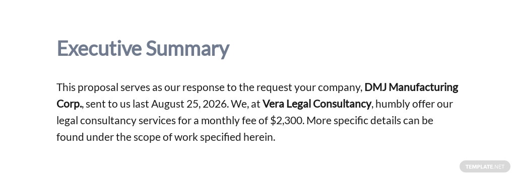 Consulting Contract Proposal Template [Free PDF] - Google Docs, Word, Apple Pages