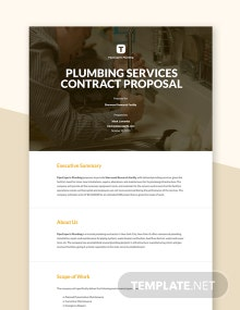 Job Contract Proposal Template