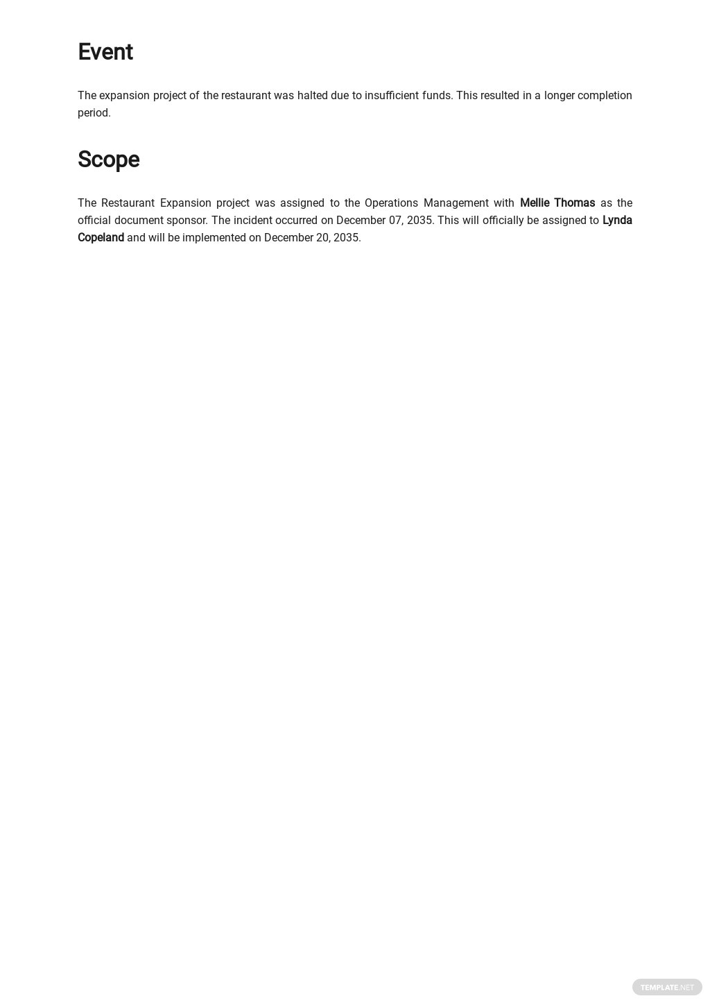 Free Simple Root Cause Analysis Template 1.jpe