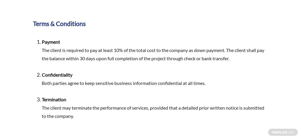 Management Contract Proposal Template [Free PDF] - Google Docs, Word, Apple Pages