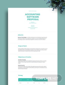 IT Product Proposal Template
