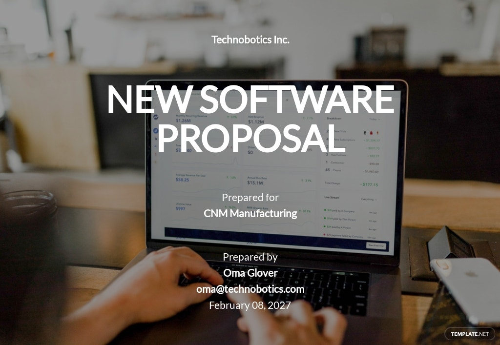 New Software Proposal Template