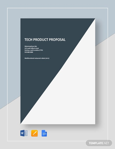 Tech Product Proposal Template