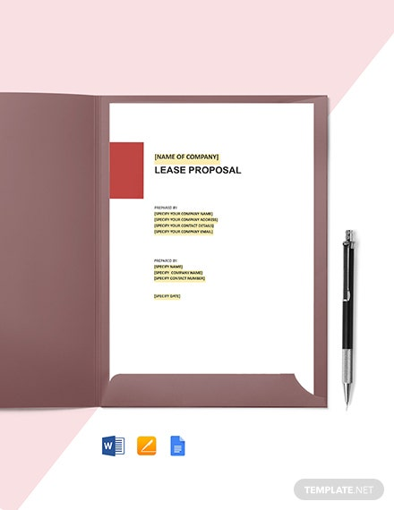 Office Lease Proposal Template