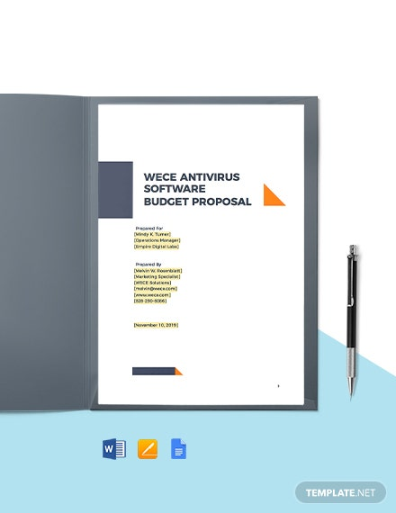 Software Company Proposal Template