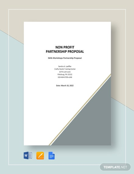 Nonprofit Partnership Proposal Template