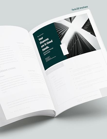 Banking  Finance Magazine Ads Format