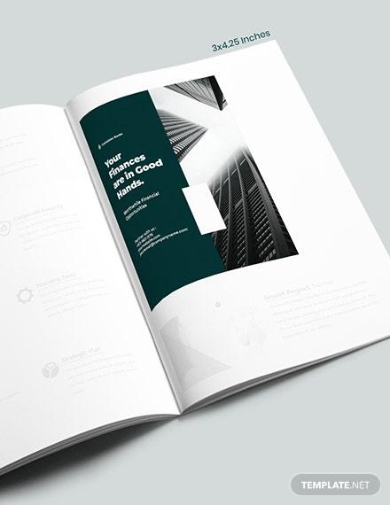 Banking  Finance Magazine Ads Template