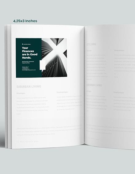 Sample Banking  Finance Magazine Ads