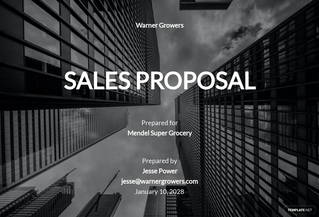 Free Simple Sales Proposal Template.jpe