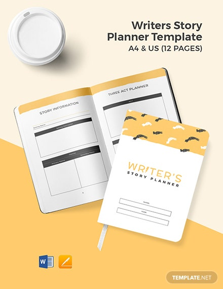 Writers Story Planner Template