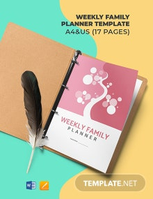 Weekly Family Planner Template
