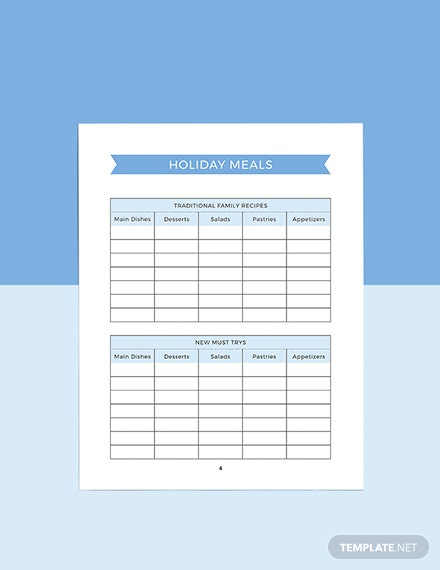 Holiday Story Planner Download