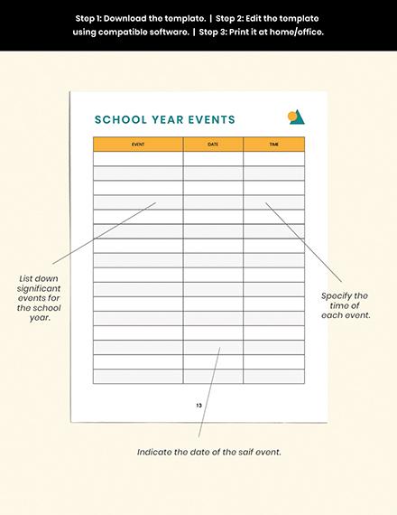 PreSchool Lesson Planner Guide