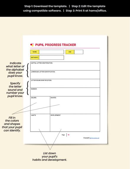 Printable Preschool Planner Guide