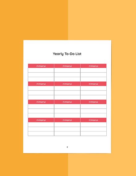 Food Blog Planner Template Sample