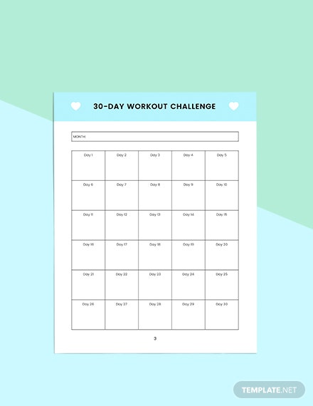 Monthly self care Planner Download