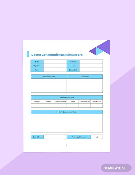 Doctor Appointment Planner Format
