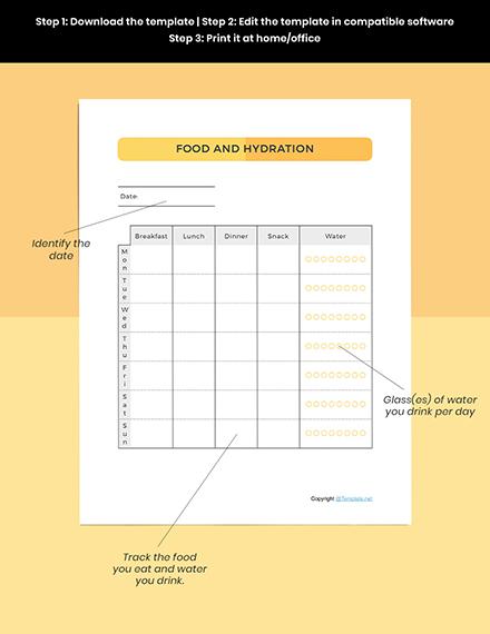 Sample Basic Food Planner