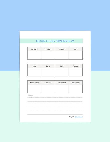 Simple Digital Planner Format