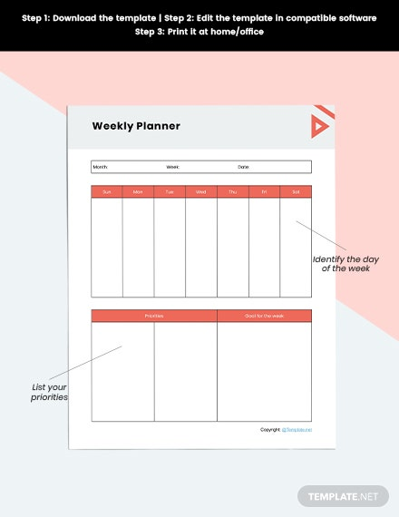 Basic Desk planner Download