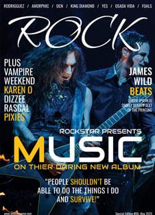 Rock Music Magazine Cover Template