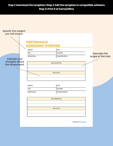 Sample Education Planner Editable