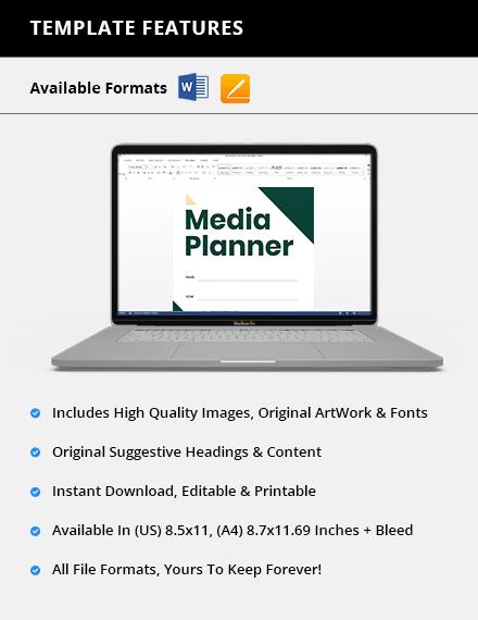 Custom Sample Media Planner